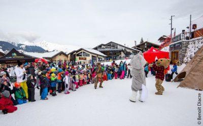 Voir la Grande Odyssée Savoie Mont Blanc en famille à la montagne !