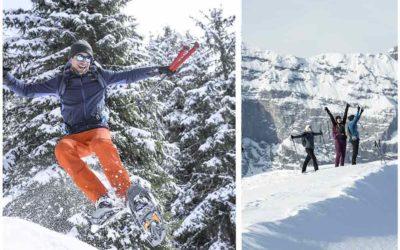 Découvrez le stand Quechua randonnée neige lors du prologue de la Grande Odyssée Savoie Mont Blanc.